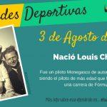 3 de agosto: Nació Louis Chiron
