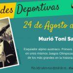 24 de agosto: murió Toni Sailer
