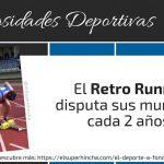 Retro Running. De terapia deportiva a deporte mundialista