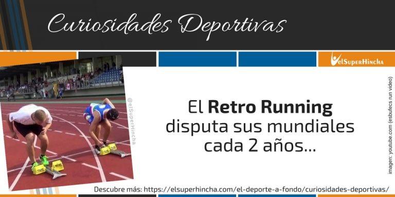 Retro Running. Correr hacia atrás no es cosas de frikis...