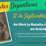 12 de septiembre: Se libró la Batalla de Maratón