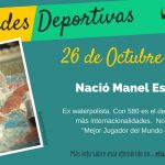 26 de octubre: Nació Manel Estiarte