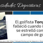 El golfista Tony Lema murió en un accidente aéreo contra un campo de golf…