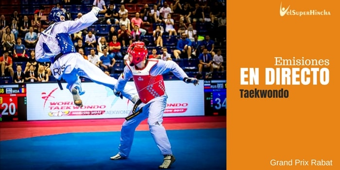 World Taekwondo Grand Prix En Directo. Rabat 2017