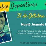 31 de Octubre: Nació Jeannie Longo