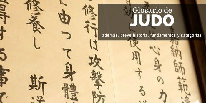 Glosario de Judo