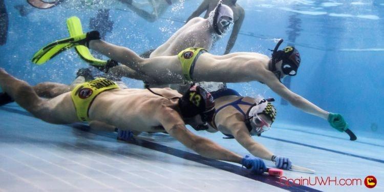 Murlocks Campeón de España de Hockey Subacuático por 4ª vez consecutiva