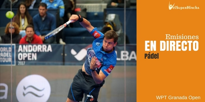 World Padel Tour En directo. Granada Open
