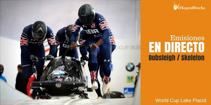 Bobsleigh y Skeleton En Directo. World Cup Lake Placid 2017