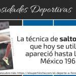La Técnica Fosbury en Salto de Altura no apareció hasta México 1968