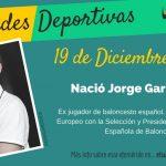 19 de diciembre: Nació Jorge Garbajosa