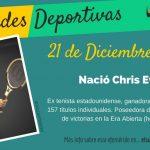 21 de diciembre: Nació Chris Evert