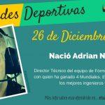 26 de diciembre: Nació Adrian Newey