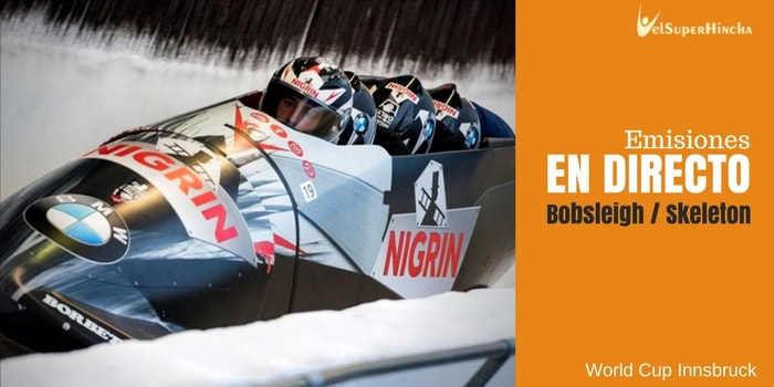 Bobsleigh y Skeleton En Directo. World Cup Innsbruck