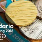 Calendario Juegos Olímpicos PyeongChang 2018
