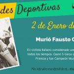 2 de Enero: Murió Fausto Coppi