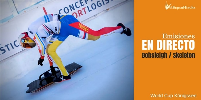 Bobsleigh y Skeleton En Directo. World Cup Königssee