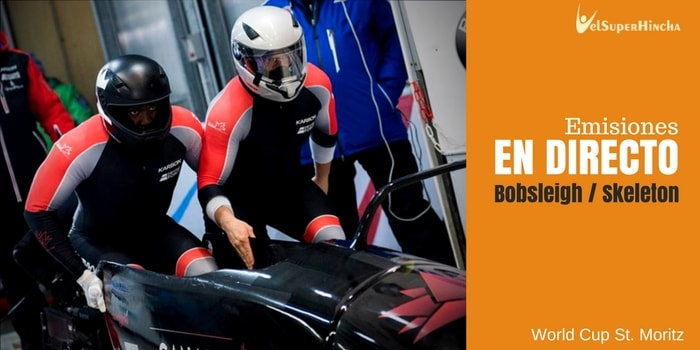 Bobsleigh y Skeleton en Directo. World Cup St. Moritz 2018