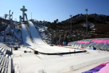 Centro de Salto de Esquí Alpensia. PyeongChang 2018