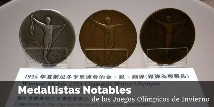 Medallistas y medallas de los Juegos Olímpicos de Invierno