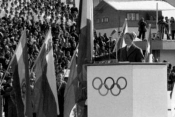 Giuliana Chenal fue la primera mujer que pronunció el Juramento de los deportistas en unos Juegos Olímpicos de Invierno