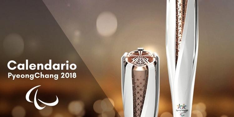 Calendario Juegos Paralímpicos PyeongChang 2018
