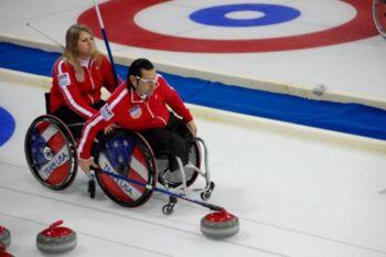 Curling en Silla de Ruedas