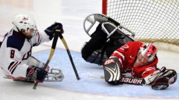 Hockey Hielo en Trineo o Sledge Hockey