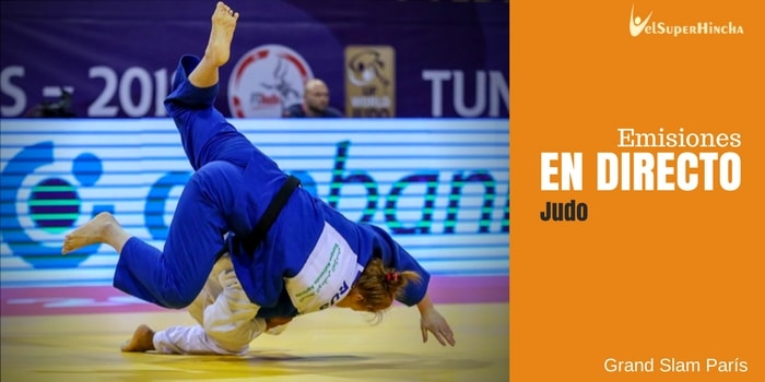 Judo En Directo. Grand Slam París 2018 | IJF World Judo Tour
