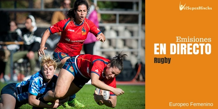 Rugby Femenino En Directo | Europeo Bélgica 2018. Rugby XV Mujeres