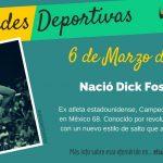 6 de Marzo: Nació Dick Fosbury