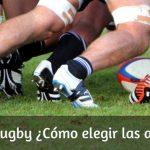 Todo lo que necesitas saber para elegir tus Botas de Rugby