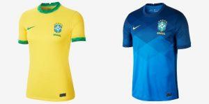 Camiseta Brasil 2020-2021