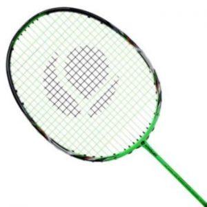 Raqueta de Bádminton con la cabeza ovalada