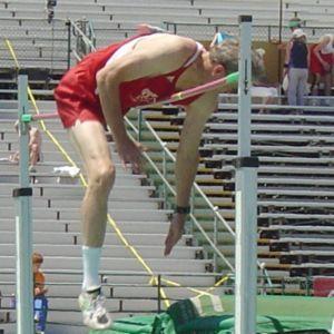 Técnica Straddle con la que Fosbury no conseguía buenos resultados