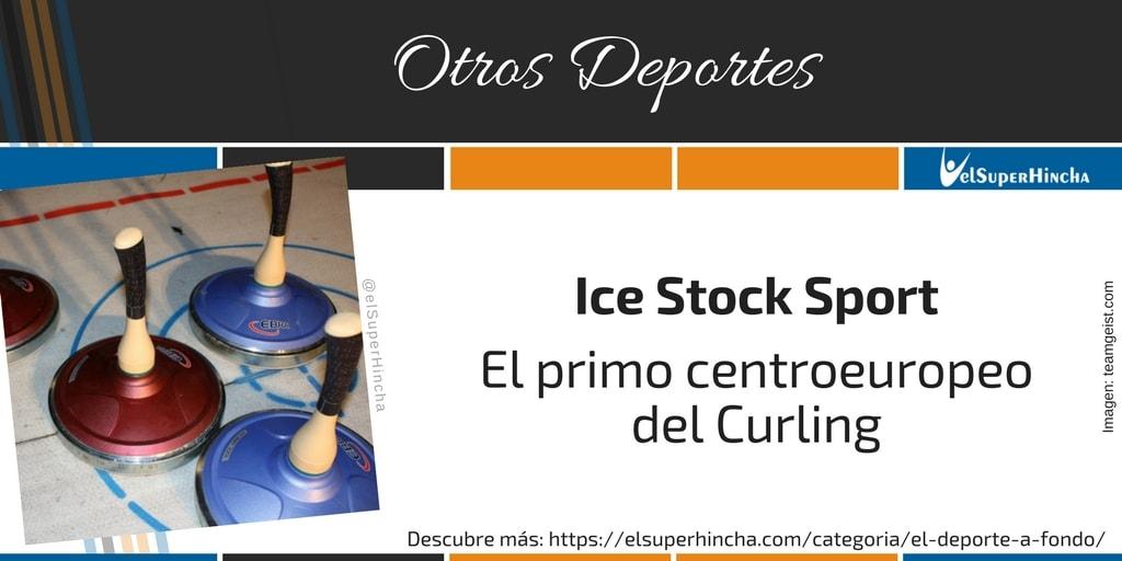 Ice Stock Sport. El primo centroeuropeo del Curling