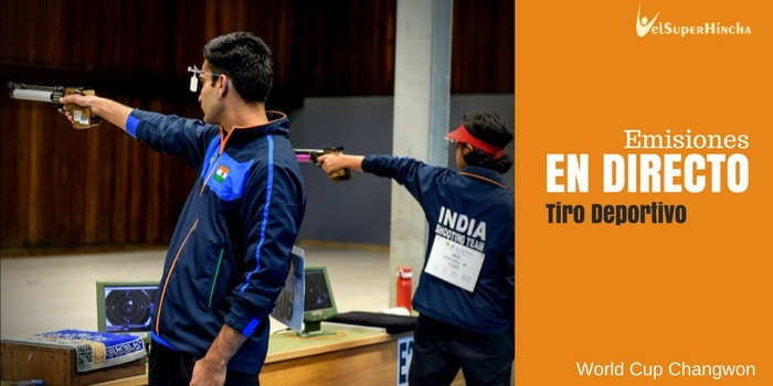 Tiro Deportivo En Directo. World Cup Changwon 2018. Rifle, Pistola y Escopeta