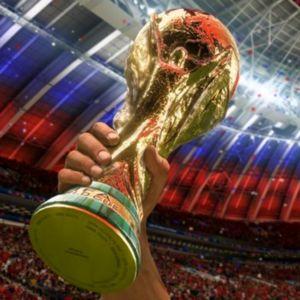 Copa Mundial de Fútbol. El trofeo del Mundial