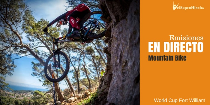 Mountain Bike en Directo. World Cup Fort William 2018