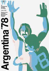Póster del Mundial Argentina 1978