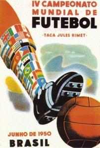 Póster del Mundial Brasil 1950