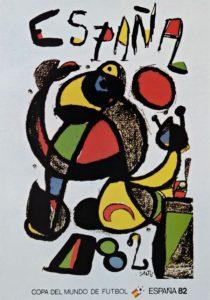 Póster del Mundial España 1982