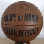 Allen, el Balón del Mundial Francia 1938 fue el primer Balón Oficial de un Mundial