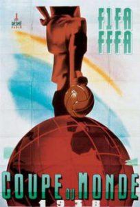 Póster del Mundial Francia 1938