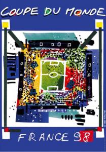 Póster del Mundial Francia 1998