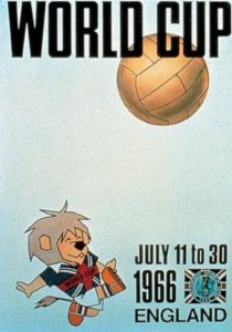 Póster del Mundial Inglaterra 1966
