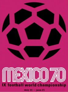 Póster del Mundial México 1970