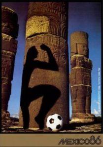 Póster del Mundial México 1986