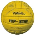Top Star, el Balón del Mundial Suecia 1958