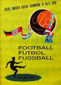 Póster del Mundial Suecia 1958